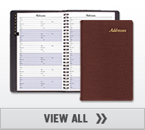 Large Address Books 5.5 x 8.5 inches