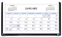 DDC-R Refill for DDC-03 Triangular Desktop Calendar
