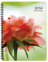 MB-32 Floral Monthly Planner