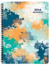MB-3W Watercolor Monthly Planner