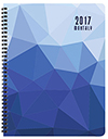 MB-3P Crystal Monthly Planner