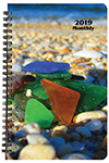 MB-2Y 2019 Sea Glass Monthly Planner