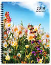 MB-32 2019 Floral Monthly Planner