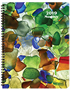 MB-3Y 2019 Sea Glass Monthly Planner