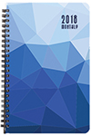 MB-2P Crystal Monthly Planner