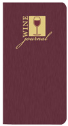 WJ-1A Shimmer Wine Journal, 3.5 x 6.5, Saddled-Stitched