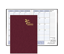 SMB-6 Academic Monthly Planner 7 x 10 inches