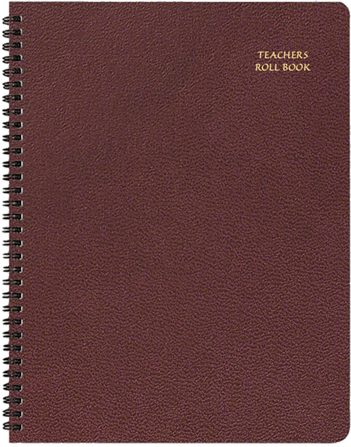 tr 31 skivertex teachers roll book 8 5 x 11 inches