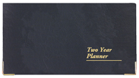 DC-13 Designer Collection Continental Two Year Planner