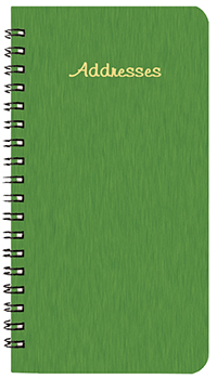 PA-1A Shimmer Medium Address Book