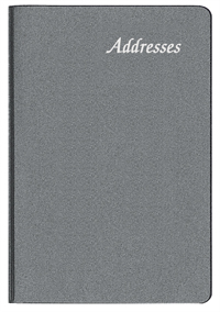 PA-55 Frosted Mini Address Book