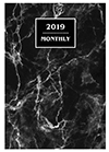 MB-6Q 2019 Marble Monthly Planner