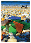 MB-6Y 2019 Sea Glass Monthly Planner