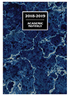 SMB-6Q 2018-2019 Marble Academic Monthly Planner