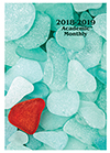 SMB-6Y 2018-2019 Sea Glass Academic Monthly Planner
