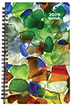 WB-2Y 2019 Sea Glass Weekly Planner