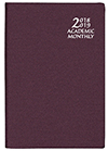 SMB-65 Frosted Academic Monthly Planner
