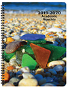 SMB-3Y 2018-2019 Sea Glass Academic Monthly Appointment Book