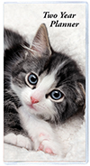 TYP-1K Two Year Pocket Planner Kitten Series